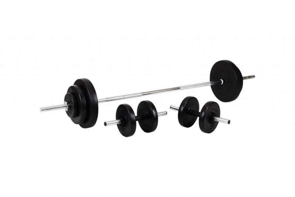 Штанга + Гантели Набор Premium 110 кг