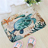 Абсорбирующий коврик «Морская черепаха» 40×60 см, фото 8