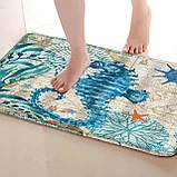 Абсорбирующий коврик «Морской конек» 40×60 см, фото 4