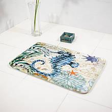 Абсорбирующий коврик «Морской конек» 40×60 см