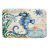 Абсорбирующий коврик «Морской конек» 40×60 см, фото 3