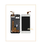 Дисплей Модуль FLY FS407 Stratus 6 (2016) с сенсором White