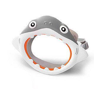 Маска для плавання дитяча 55915 акула, краб