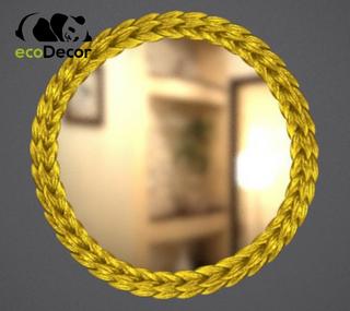 Зеркало настенное Belo в золотой раме