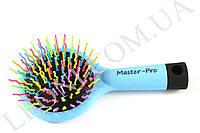 Массажная щетка для волос Master-pro 8813