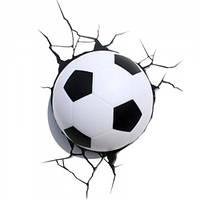 3D cветильник ночник Football Light футбольный м'яч