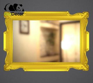 Зеркало настенное Alexandria в золотой раме