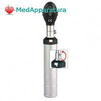 EUROLIGHT® E10, 2.5V Офтальмоскоп с винтовым креплением головки, и одной диафрагмой