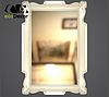Зеркало настенное Alexandria в серебряной раме, фото 2