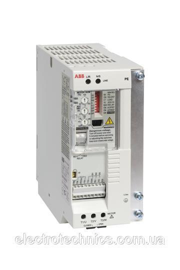 Преобразователь частоты ABB ACS550-01-04A6-2+B055 0,75кВт 230В 3Ф IP54, фільтр EMC1, PFC, R1 3AUA0000004186