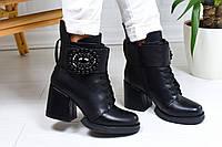 Женские ботинки на каблуке, фото 1
