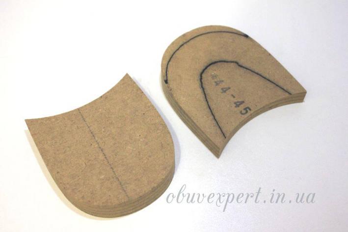 Каблуки деревянные (мазанитовые) без набойки, р.44-45, фото 2