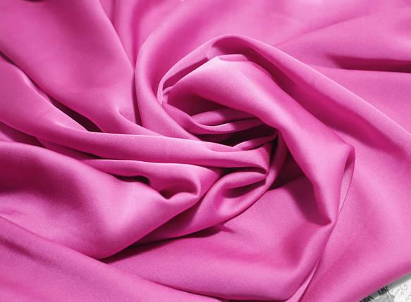 Ткань шелк армани малиновый, фото 2