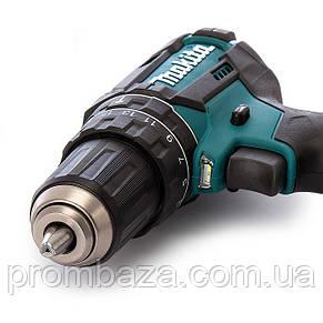 Аккумуляторный ударный шуруповерт Makita DHP482RFE3, фото 2