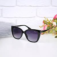 Очки женские от солнца Dior черные 301674, магазин очков, фото 1