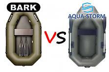 Барк VS Шторм: обзор лодок Барк и Шторм