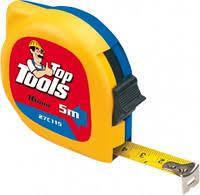 Рулeткa TopTools (TOPEX) 27C112 2м / 12.5 мм двухцветная