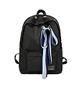 Рюкзак  черный с лентами, фото 3