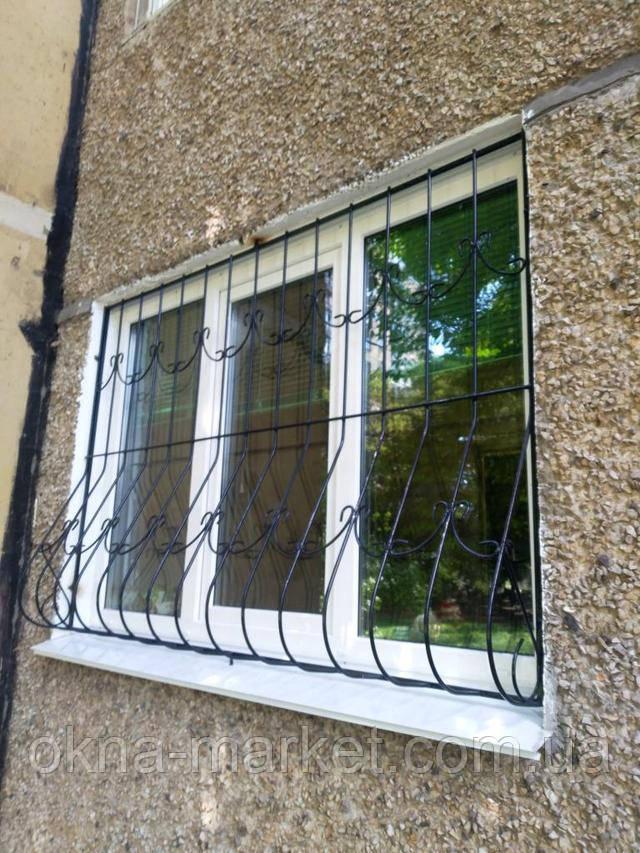 Решетки на окна пластиковые Киев