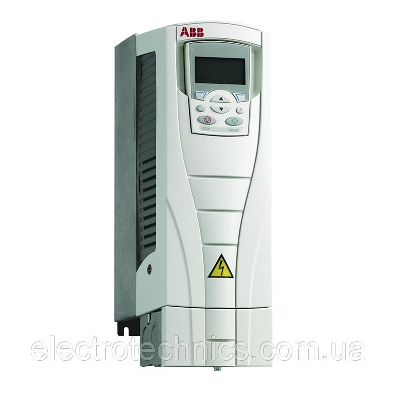 Преобразователь частоты ABB ACS550-01-088A-2 22кВт 230В 3Ф IP21, фільтр EMC1, PFC, R4 3AUA0000003383