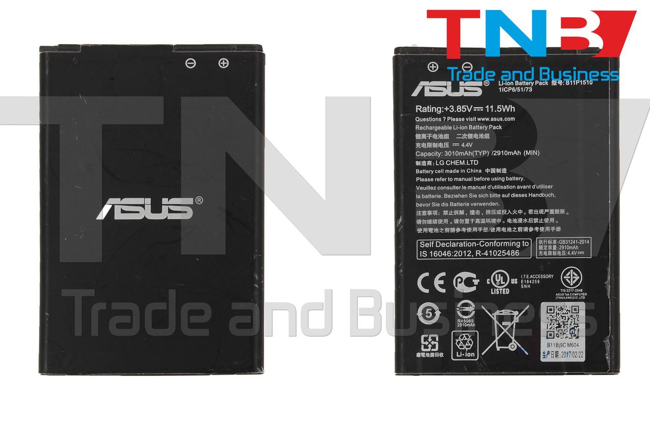 Батарея ASUS B11P1510 ASUS ZenFone Go (ZB551KL) Li-ion 3.85V 3010mAh ОРИГІНАЛ