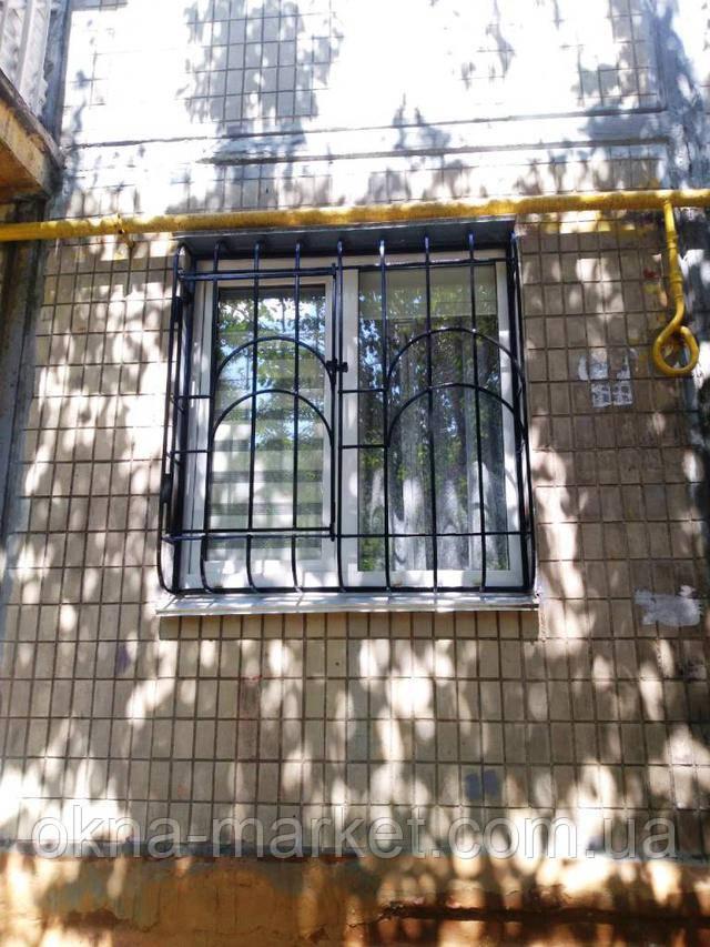 Решетки на окна металлопластиковые Киев