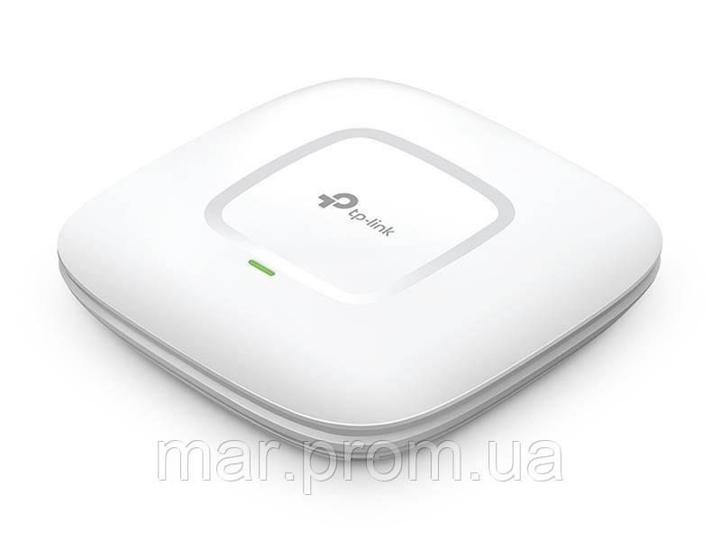 Точка доступа TP-Link EAP225 802.11ac 2.4/5ГГц, AC1200, 2*4дБи, 1xGE LAN. PoE, потол.