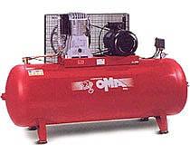 Компрессор поршневой с ременным приводом двухступенчатый FT 5.5/620/500 (АВАС, Италия)