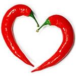 Красный перец чили положительно влияет  на сердечно-сосудистую систему.