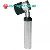 EUROLIGHT® D30 Дерматоскоп, 2,5 V  с металлической рукоятью 10-кратное увеличение, измерительная шкала.