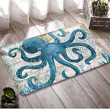 Абсорбирующий коврик «Осьминог» 40×60 см