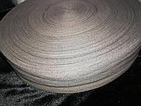 Киперная лента 4см (бледно сиреневая)