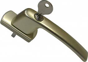 Ручка оконная Maco Harmony с замком и ключом