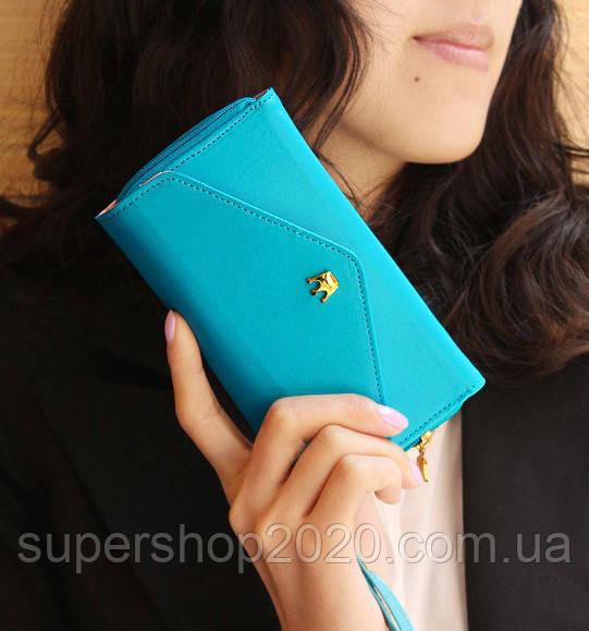 Жіночий гаманець Crown Blue