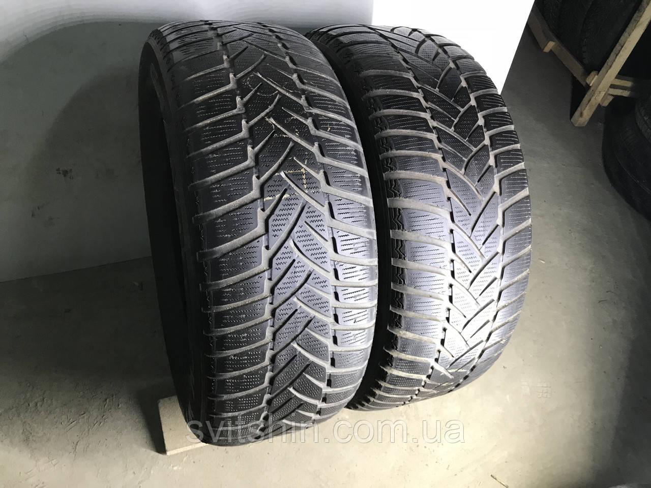 Шины бу зима 265/55R19 Dunlop Grandtrek WT M3 2шт (4,5-5мм)