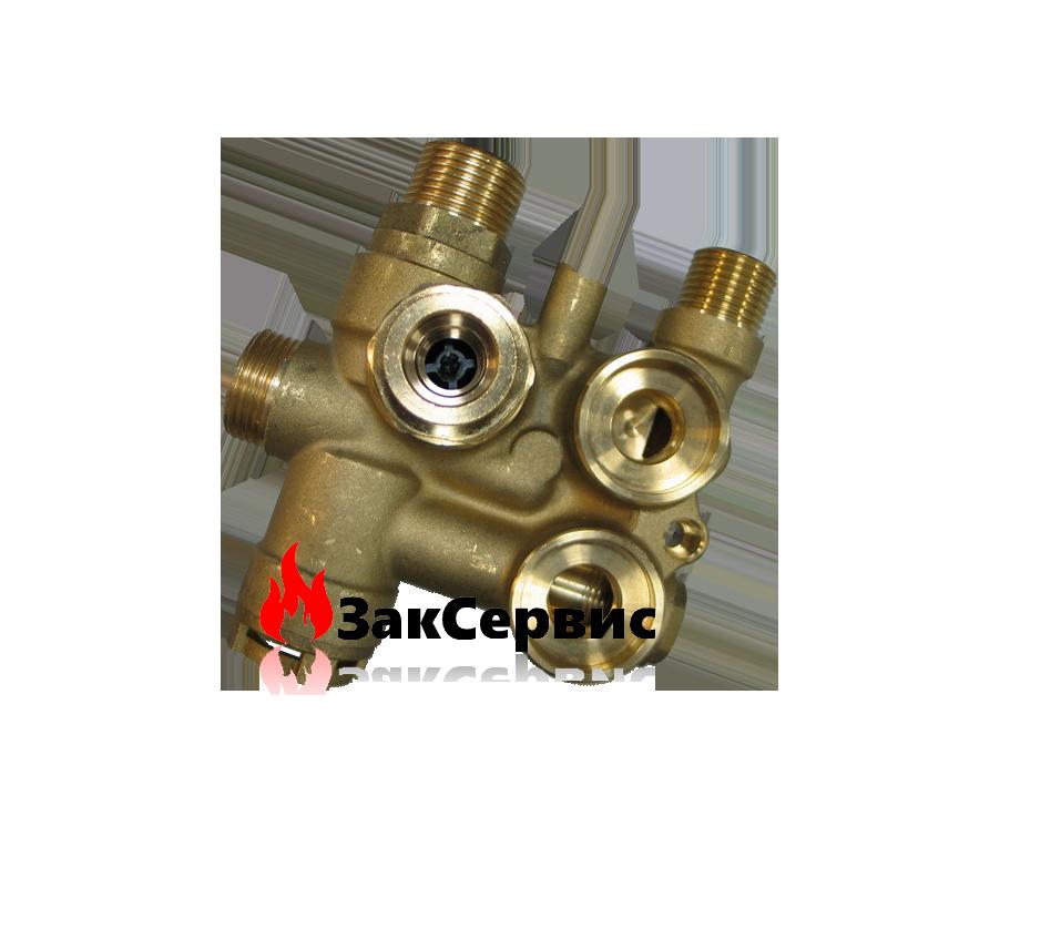 Трехходовой клапан на газовый котел Baxi Eco 3 5676910