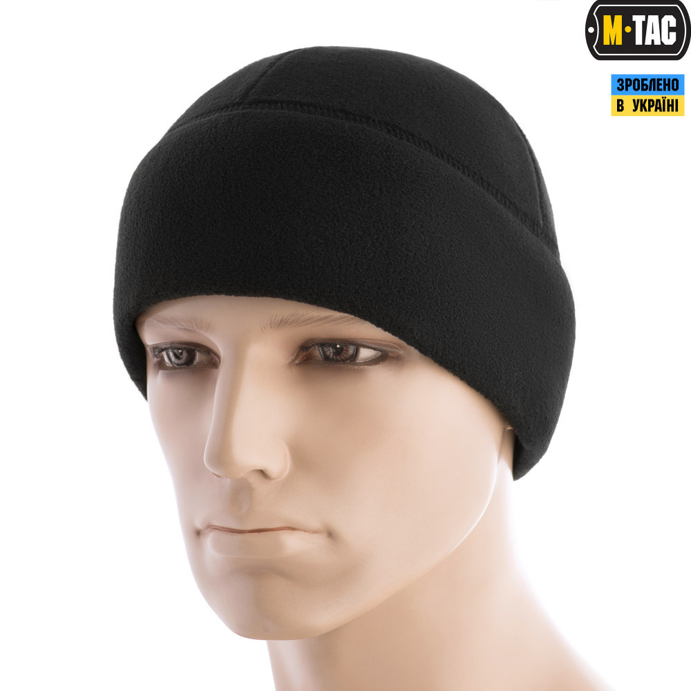 1352a494fe4e6 M-Tac шапка Watch Cap флис (260г/м2) with Slimtex Black: продажа ...