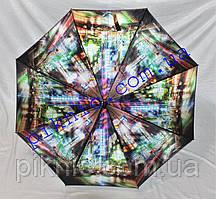 Жіноча парасолька тростина напівавтомат. Парасоля від дощу