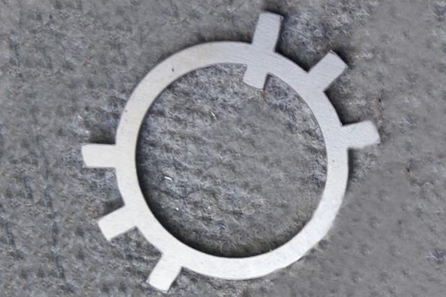 Шайба Ф18 ГОСТ 11872-89 стопорная оцинкованная
