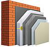 Комплекс материалов для утепления фасада частного дома с пенопластом 50мм.