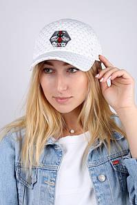 Кепка женская реплика Gucci белая