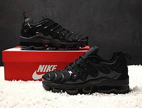 "Мужские и женские кроссовки Nike Air VaporMax Plus ""Triple Black"", фото 3"