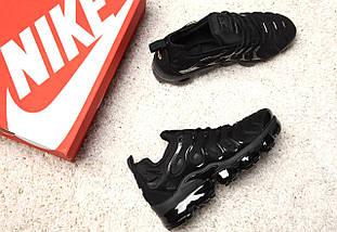 "Мужские и женские кроссовки Nike Air VaporMax Plus ""Triple Black"", фото 2"