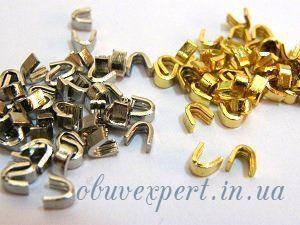 Обмежувач верхній для блискавки Т.5 Золото (50 шт), фото 2