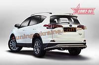 Защита задняя d60 Союз 96 на Toyota Rav4 2016 (эксклюзив TMR)