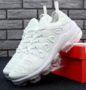 "Мужские кроссовки в стиле Nike Air VaporMax Plus ""White"""
