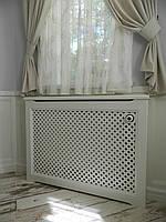 Декоративна решітка на батарею опалення екран (Короб) R101-K, фото 1