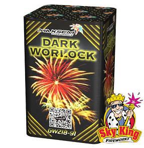 Салют DARK WORLOCK 20мм. 9 выстр. Пиротехника и фейерверки