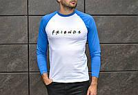 Мужская классическая футболка с рукавом 2 Джерси Друзья Реплика