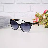Очки женские от солнца Chanel черные 301683 магазин очков, фото 1
